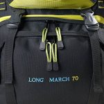 AspenSport, Long March, zaino da 70 litri, Unisex, Zaino, Long March 70, nero/verde, 45 x 80 x 32 cm de la marque AspenSport image 4 produit