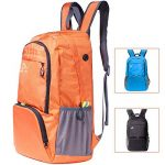 Cobiz Ultralight Packable Camping Zaino Escursionismo Daypack, Water Resistant 30L Pack Handy Pieghevole Laptop Travel Outdoor Zaino per Donna Uomo Bambini (C-Brancione) de la marque Cobiz image 2 produit