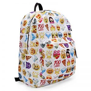 KING DO WAY Espressione Divertente Zaino Donne Zaino Viaggio Borsa Backpack Scuola de la marque KING DO WAY image 0 produit
