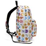 KING DO WAY Espressione Divertente Zaino Donne Zaino Viaggio Borsa Backpack Scuola de la marque KING DO WAY image 2 produit