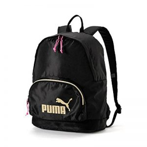 Puma Wmn Core Backpack Seasonal, Zaino Donna, Black-Gold, Taglia Unica de la marque Puma image 0 produit