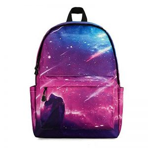 Raffreddare Zaino Casual, Oxford Resistente all'Usura Spinning Riding Printing Zaino Outdoor Hiking Laptop Zaino Trend Unisex School Bag (Design : B) de la marque DFMD image 0 produit