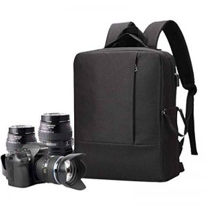 Selighting Zaino Fotografico Zaini Professionali per Fotocamera Digitale Camera Photography Backpack (Nero) de la marque Selighting image 0 produit