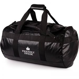 The Friendly Swede Borsone da Viaggio e Sport Convertibile in Zaino - Duffel Bag (capacità: 30l/ 60l/ 90l) de la marque The Friendly Swede image 0 produit