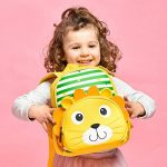 Zaino per bambini, Nursery Child Backpack Sacchetti di scuola per bambini Boy Girl Kindergarten Animal Cartoon Preschool Zaino 2-6 anni de la marque IvyH image 3 produit